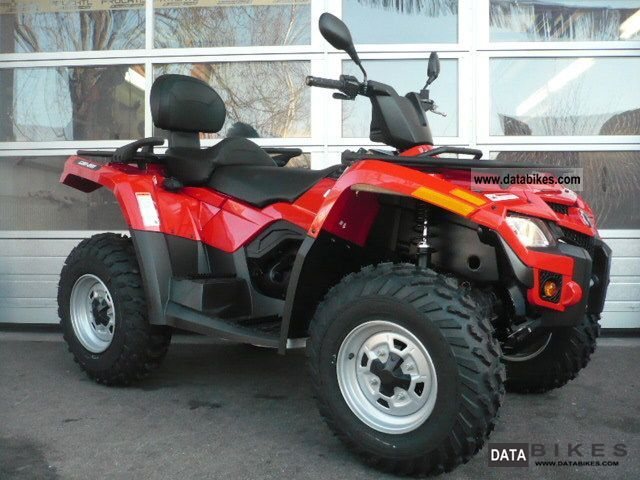 2011 Can Am  BRP Outlander MAX 400 EFI Motorcycle Quad photo
