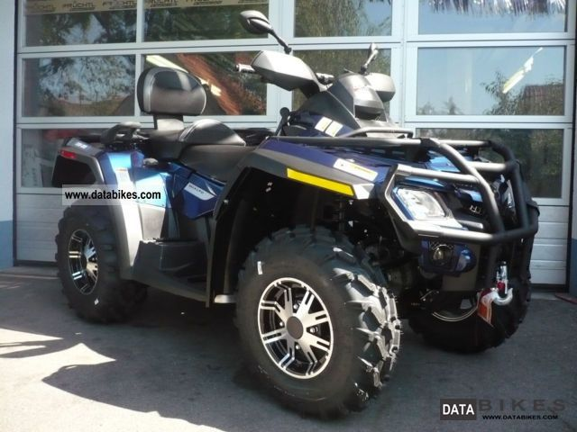 2011 Can Am  BRP Outlander MAX 800R EFI LTD Motorcycle Quad photo