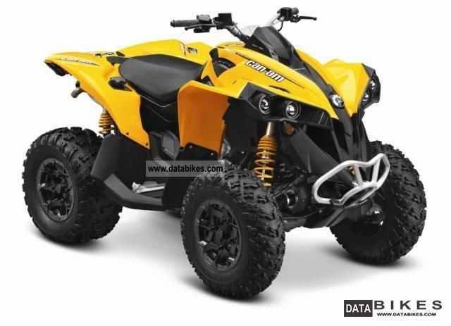 2011 Can Am  BRP Renegade 800R EFI Motorcycle Quad photo