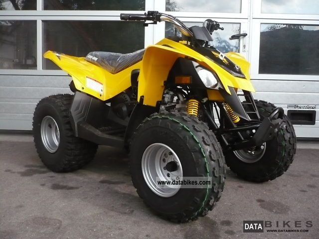 2011 Can Am  BRP DS 90 Motorcycle Quad photo