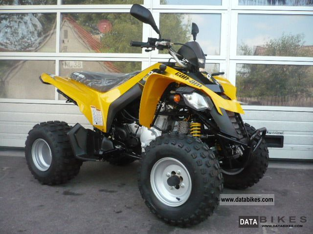 2011 Can Am  BRP DS 250 Motorcycle Quad photo