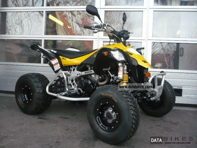 2011 Can Am  BRP DS 450 EFI XMX Motorcycle Quad photo