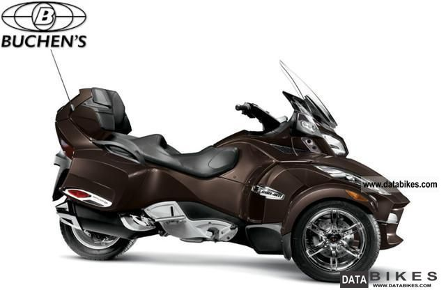 2011 Can Am  Spyder RT-S Limited in bronze FS.Kl.3 / B Motorcycle Trike photo