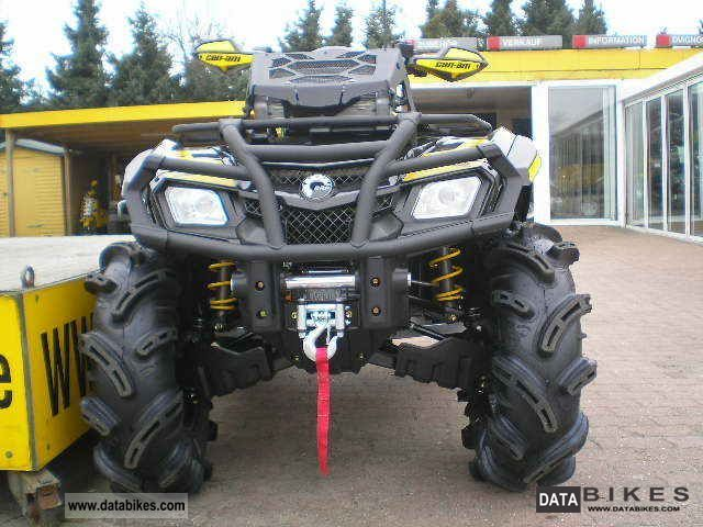 2011 Can Am  Outlander 800 Mud Racer R XMR with LOF / ZM Motorcycle Quad photo