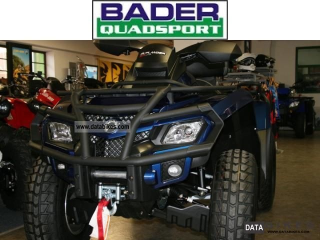 Can Am  Outlander MAX 800 R ** 2011 ** LIMITED EDITION LTD 2011 Quad photo