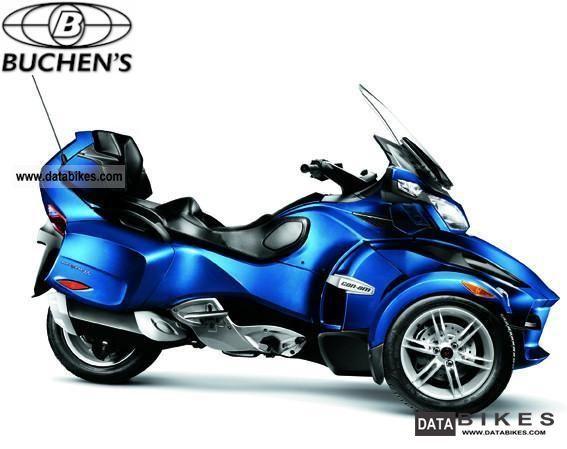 2011 Can Am  Spyder RT-S SE5 Quatum Blue FS.Kl.3 / B Motorcycle Trike photo