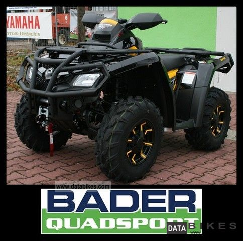 Can Am  OUTLANDER 800R XT-P ** WITH PACKAGE WITH DPS 800 ** 2011 Quad photo