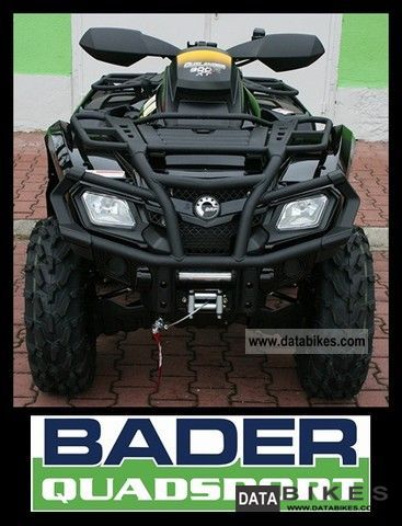 2011 Can Am  Outlander MAX 800R EFI XT-P * WITH PACKAGE * Motorcycle Quad photo