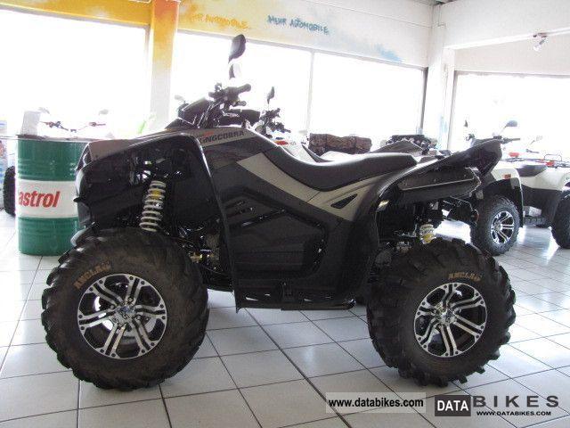 2011 Cectek  KING COBRA 500Lof Diff IXD * vo + hi * Dealer Motorcycle Quad photo