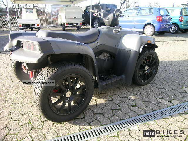 2009 Cectek  Quadrift 500 LOF with AHK, 2100 KM! Motorcycle Quad photo