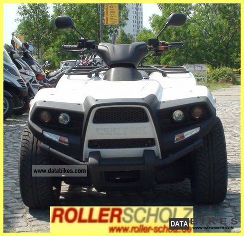 2010 Cectek  Quadrift 500 EFI delivery nationwide Motorcycle Quad photo