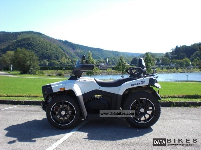 2010 Cectek  Quadrift Evo Efi Motorcycle Quad photo