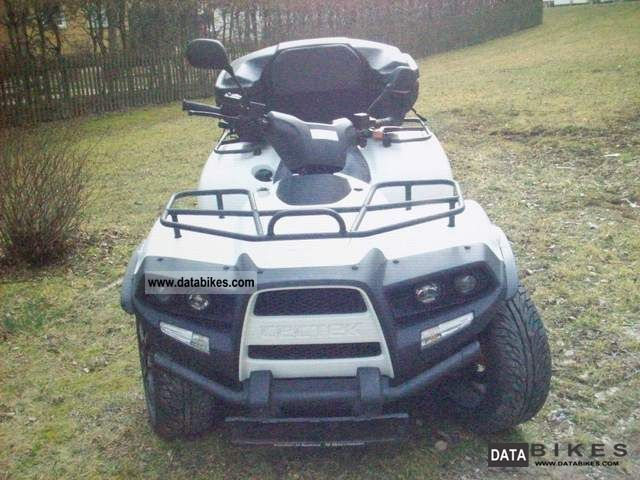 2010 Cectek  Quadrift 500 EFI with LOF-approval Motorcycle Quad photo