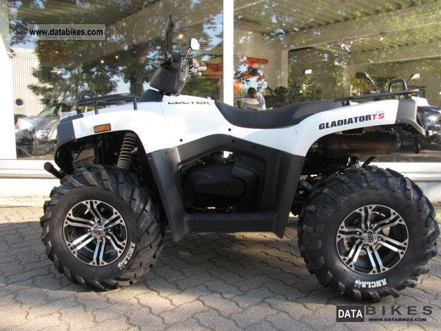 2011 Cectek  GLADIATOR 500 T5 * with the new circuit in 2012 Motorcycle Quad photo