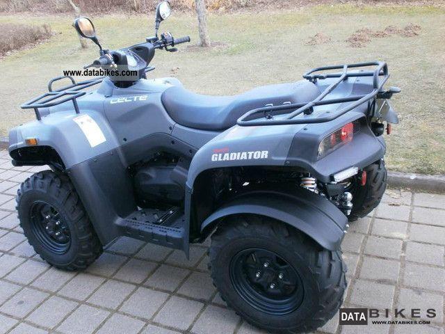 2012 Cectek  Gladiator 500 EFI 4x4, VKP, Anthracite Motorcycle Quad photo