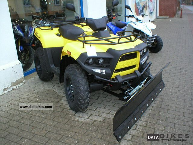 2011 Cectek  Gladiator 500 Motorcycle Quad photo