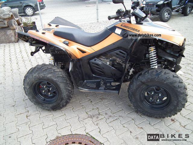 2010 Cectek  King Cobra Motorcycle Quad photo