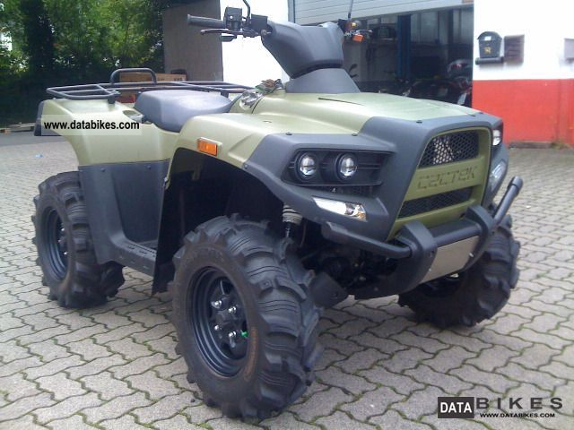 2010 Cectek  Gladiator 4x4 * LOF * little * Km and good condition Motorcycle Quad photo