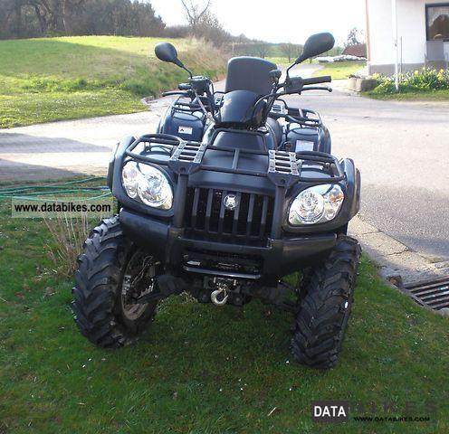 2012 CFMOTO  Atlas 500 Motorcycle Quad photo