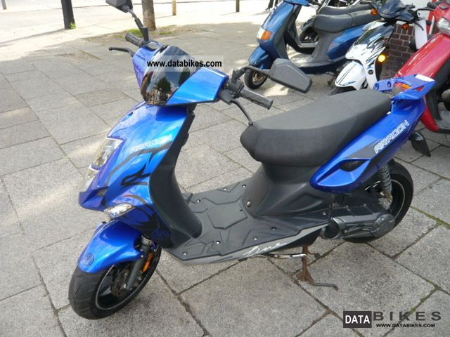 2007 CPI  Aragon 50cc Sport Motorcycle Scooter photo