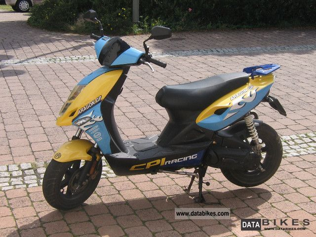 2008 CPI  Aragon GP Motorcycle Motor-assisted Bicycle/Small Moped photo