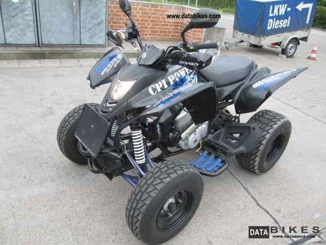 2011 CPI  XS 250 Motorcycle Quad photo