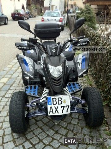 2008 CPI  XS 250 Motorcycle Quad photo