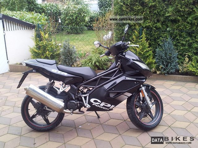 2007 CPI  GTR 50 BLACK CCM 25/50 papers Motorcycle Scooter photo