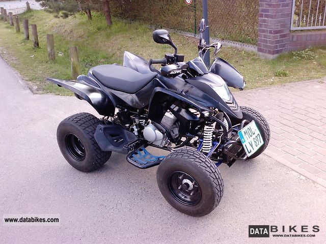 2010 CPI  xs 250 Motorcycle Quad photo