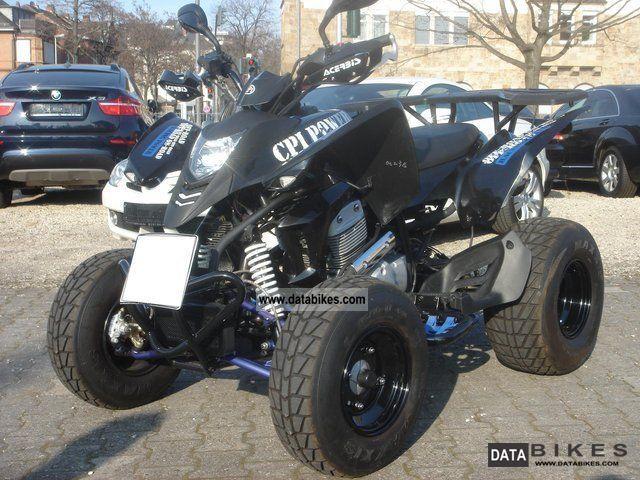 2010 CPI  XS 250 POWER BLACK EDITION Motorcycle Quad photo