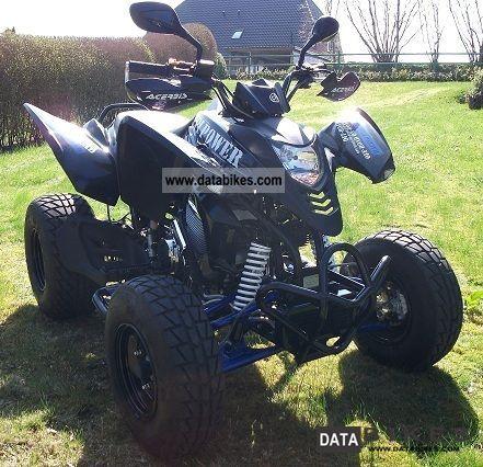 2008 CPI  XS 250 Black Edition Motorcycle Quad photo