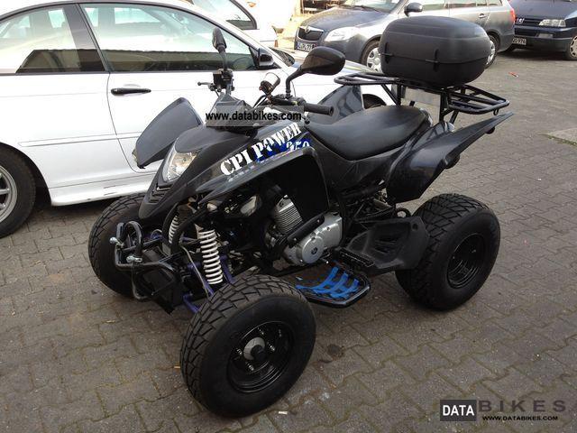 2009 CPI  XS 250 BLACK EDITION Motorcycle Quad photo
