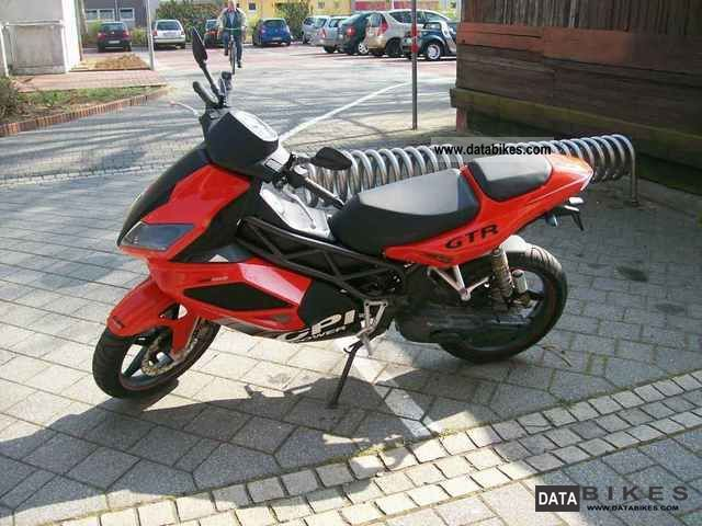 2007 CPI  GTR Motorcycle Scooter photo