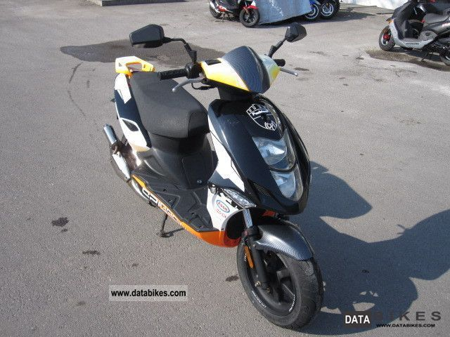 2008 CPI  Aragon GP 50 Pappock - 45 km / h Scooter Motorcycle Scooter photo