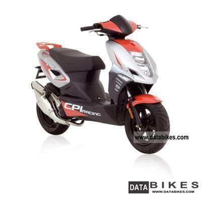 2011 CPI  Aragon GP 45 Sport 50 'Scooter Motorcycle Scooter photo