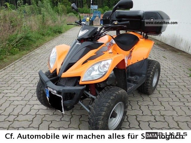 2006 Daelim  250cc, 14kw, technical approval to 5/2013, automatic, luggage Motorcycle Quad photo