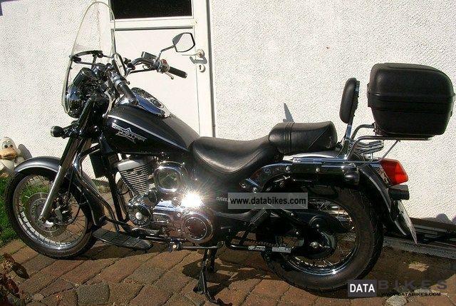 2008 Daelim  Daystar VL FI classic Motorcycle Chopper/Cruiser photo