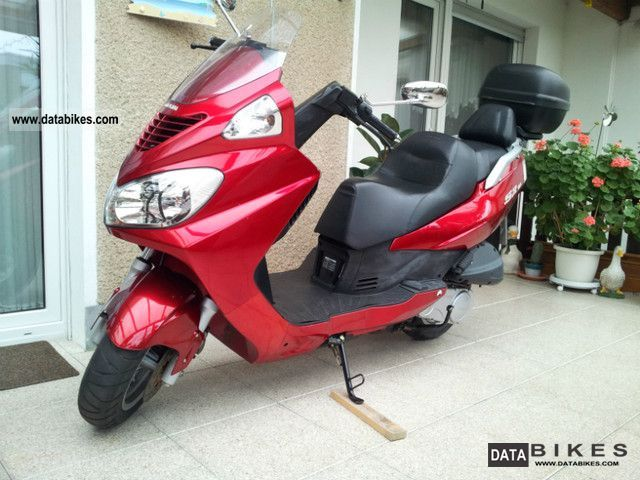 2007 Daelim  Freewing SQ125 Motorcycle Scooter photo