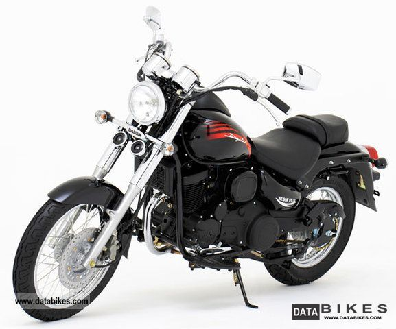 2011 Daelim  DAYSTAR 125cc chopper motorcycle with fuel injection Motorcycle Chopper/Cruiser photo