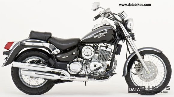 2011 daelim daystar 125cc chopper motorcycle injection ant. Black Bedroom Furniture Sets. Home Design Ideas