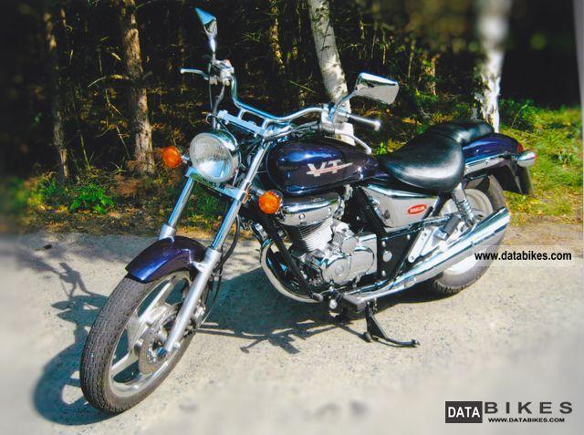 1999 Daelim  Evolution Motorcycle Chopper/Cruiser photo