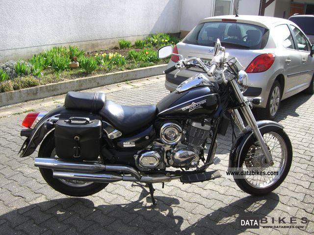 2008 Daelim  Daystar F1 Motorcycle Chopper/Cruiser photo