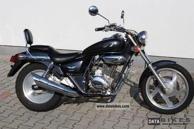 1998 Daelim  Custom VT Motorcycle Chopper/Cruiser photo