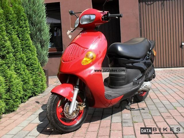 1999 Daelim  Tapo Honda never Areox Samson Motorcycle Scooter photo
