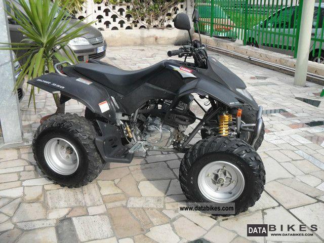 2010 Derbi  DRX 250 Motorcycle Quad photo