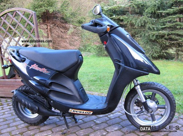 1997 Derbi  Hunter 50 Motorcycle Scooter photo