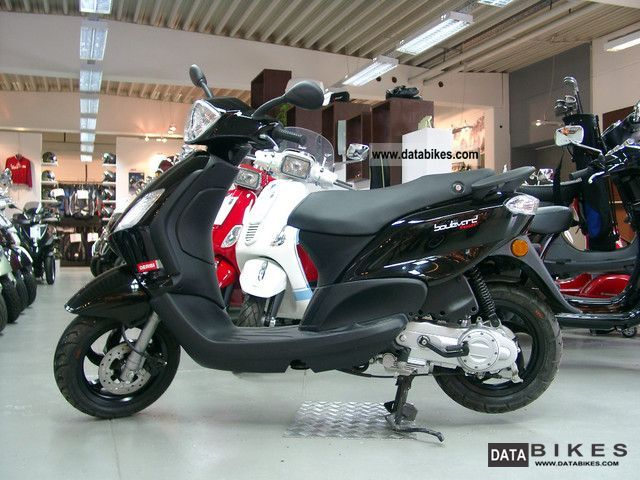 2011 Derbi  Boulevard 25 4T scooter Motorcycle Scooter photo
