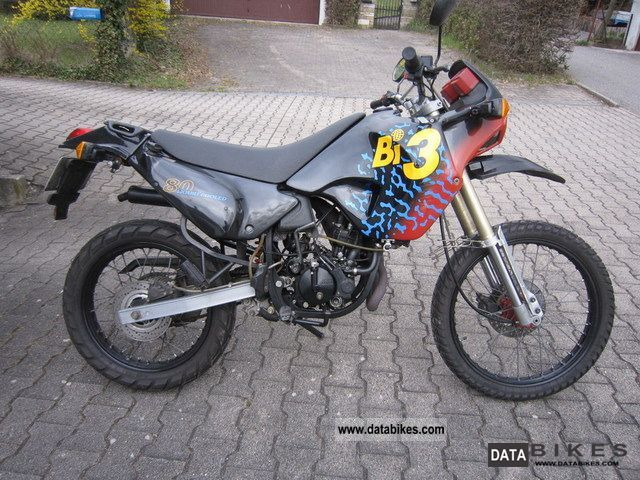 1995 Derbi  Bi3 80 Enduro / Aprilia Tuareg 50/125 Motorcycle Enduro/Touring Enduro photo