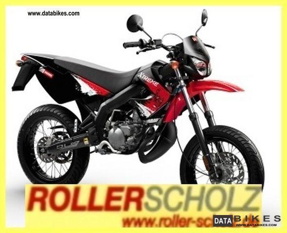 2011 Derbi  Senda X-Treme 50 SM current model! Motorcycle Motorcycle photo