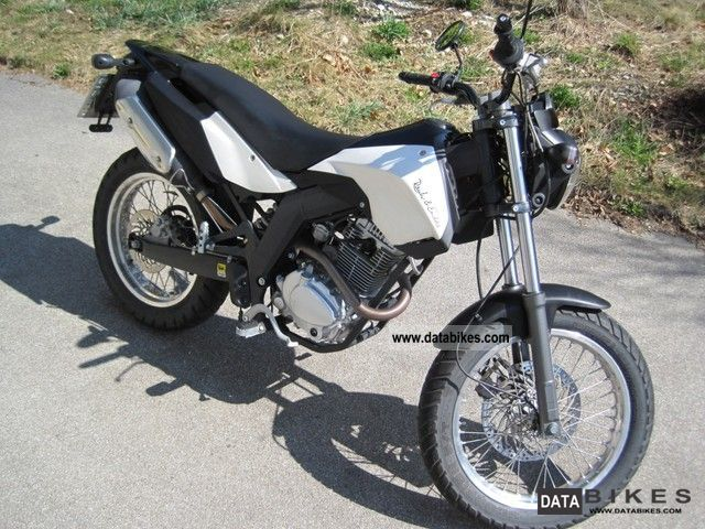 2008 Derbi  Senda SM 125 4T Cross City Motorcycle Lightweight Motorcycle/Motorbike photo